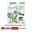 S Race Sublimation Paper A4