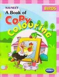Copy Colouring Birds Book