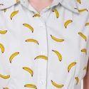 Banana Print Western Ladies Maxi