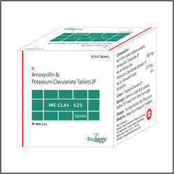 Amoxycillin & Potassium Clavulanate Acid Tablet
