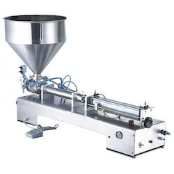 Semi Automatic Paste Filling Machine