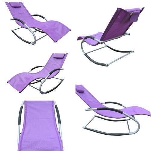 Rocking Chairs   Folding Gravity Reclining Rocking Chair   Brown  Manufacturer From Surat