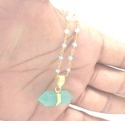 Beaded Rosary Pendant
