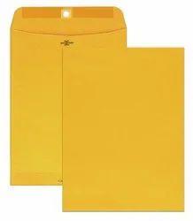 A4 Size Yellow Laminated Envelopes