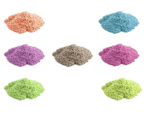 Kinetic Sand - Magic Sand - Colorful Sand - Active Sand - Play Sand Kit - Art craft Kit
