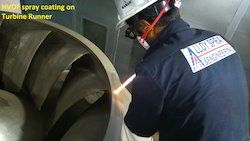 HVOF Coating On Turbine Runner