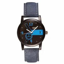 Vespl Analog Black Dial Men's Watch-VW1015