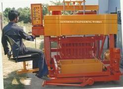 16 Block Semi Auto Hydraulic Concrete Block Machine