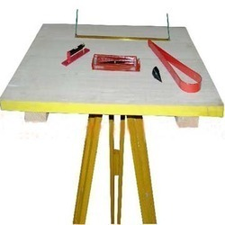 Plane Table With Accessories & Tripod