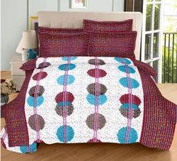 Always Plus Cotton Multi Color Double Bedsheet