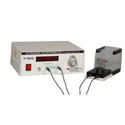 Ultrasonic Interferometer For Solids