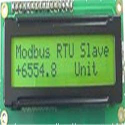 MODBUS Slave LCD
