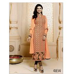 Designer Georgette Embroidered Suits