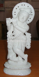 Marble Krishna Statues