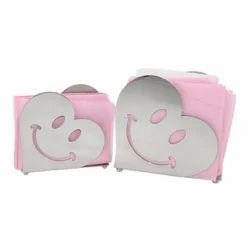 Napkin Holder - Smiling Heart Laser Cut