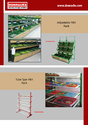 Donrack F&V Racks with SS Tray & Top Canopy