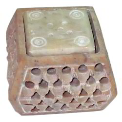Soapstone Incense Stand