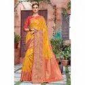 Banarasi Crystal Silk Saree
