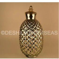 Gold Silver Jar