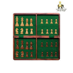 Wooden Folding Chess Board