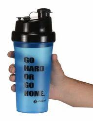 Hercules Blue Black Shaker Bottles