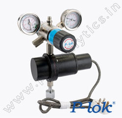 P-Lok Two Stage Cylinder Regulator With Pre Heater