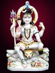 Decorative Marble Shiva Statue