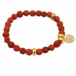 Rudraksh Beads Bracelet with Sri Yntra