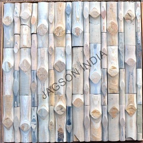 Autumn Bamboo 624 Slate Stone Tile