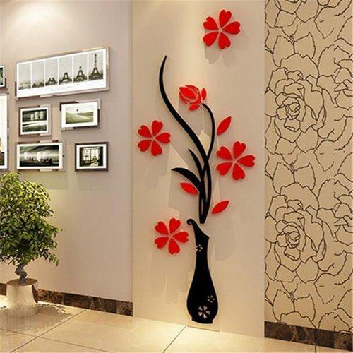 CNC Router Cutting Service - Vase Wall Murals CNC Router Cutting ...