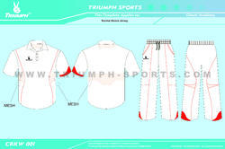 White T Shirt For Cricket
