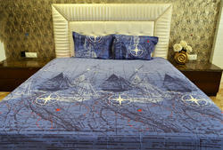 Always Plus Modern Pure Cotton Double Bedsheet
