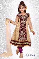 Kids Heavy Anarkali Churidar Suit