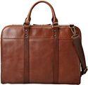 Leather Slim Laptop Bag