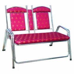 Printed Pink Sofa