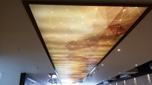 Stretch Ceiling Luxceil Pvc Stretch Ceiling Material