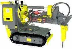 Manipulators For Slag Destruction / Destroying