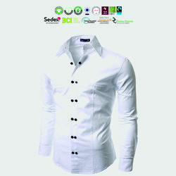 Organic cotton Mens clothing Manufacturer