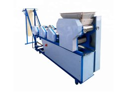 Ms Color Coated Noodle Making Machine, Capacity: 100-200 Kg/Hrs