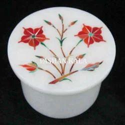 Inlay Marble Decorative Box