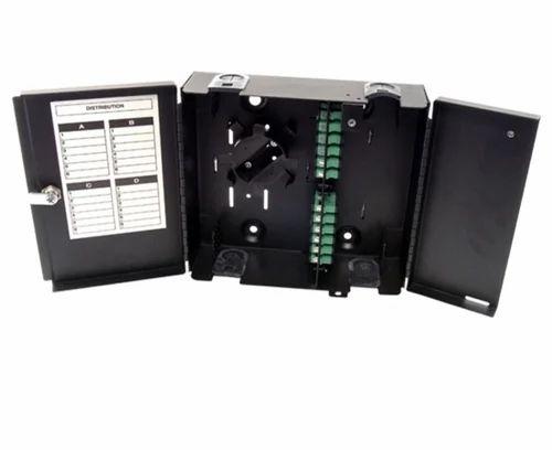 a74a635f89c4 Fibre Optic Products-2 - Wall Mount Fiber Patch Panel 12 Port Loaded ...