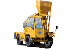 Mobile Portable Efficient Self Loading Concrete Mixer