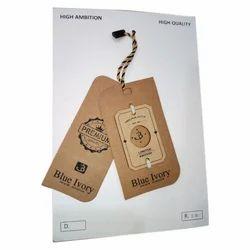 Cardboard Clothing Tag