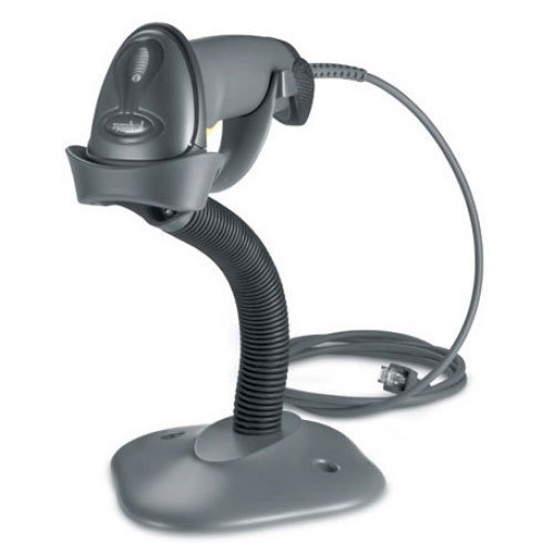 Zebra LS-2208 with Stand 1D Barcode Scanner