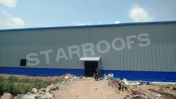 Industrial Factory Roofing Shed