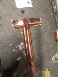 Copper Earthing Pipe