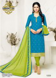 Designer Cotton Salwar Suit
