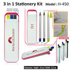 H 450 3 in 1 Stationery Kit