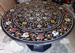 Marble Inlaid Tables