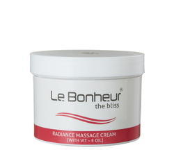 Le Bonheur Radiance Cream 400g (With Vit-E Oil)